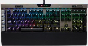 c01c7139771 Built to last, the stylish aircraft-grade anodized brushed aluminum frame  of the K95 RGB Platinum will withstand a lifetime of gaming and, ...