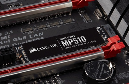 Go Faster with NVMe – CORSAIR Launches Force Series MP510 M